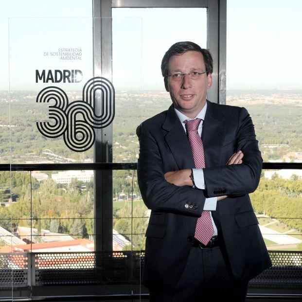 José Luis Martínez Almeida en la presentación de Madrid 360