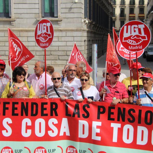 """UGT: """"Si los políticos se tomasen en serio los problemas de los mayores, no estaríamos en la calle"""""""