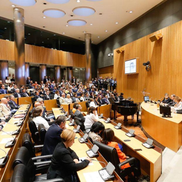 Gran homenaje a Carme Chacón en el Congreso de los Diputados