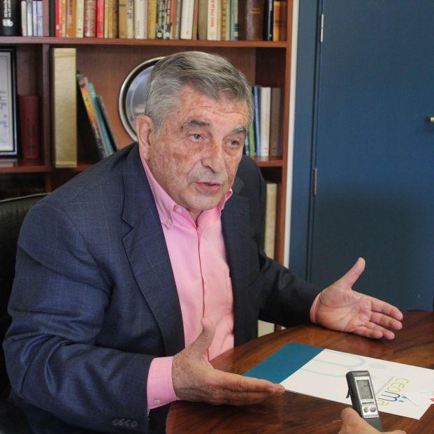 Juan Manuel Martínez, presidente de CEOMA. Foto: Pablo Recio