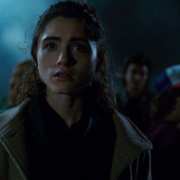 Natalia Dyer, Sadie Sink, Charlie Heaton, Joe Keery, and Gaten Matarazzo en 'Stranger Things' (Netflix)