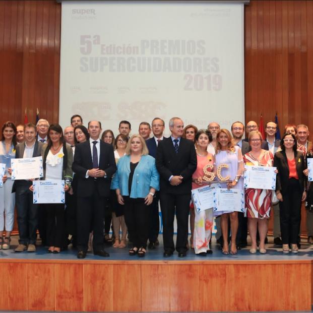 Premiados de la V Edición de los Premios Supercuidadores