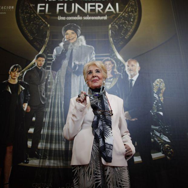 Concha Velasco presenta 'El Funeral' en el Teatro La Latina de Madrid (Eduardo Parra:Europa Press)