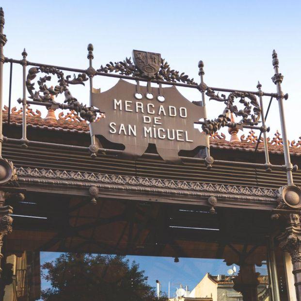 Fachada histórica del Mercado de San Miguel (mercadodesanmiguel.es)