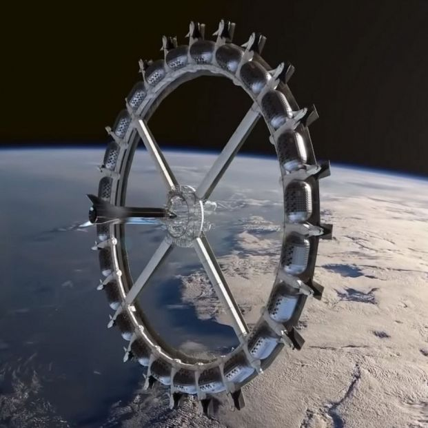 El primer hotel espacial del mundo podría ser una realidad en 2025