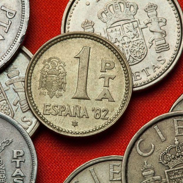 ¿Cuánto tiempo fue la peseta la moneda oficial en España?