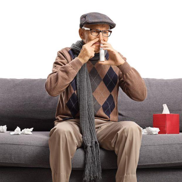 Consejos para aliviar la sinusitis en personas mayores