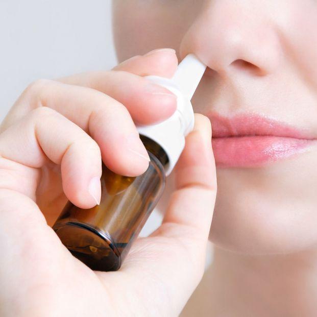 Es recomendable usar espráis para la nariz taponada