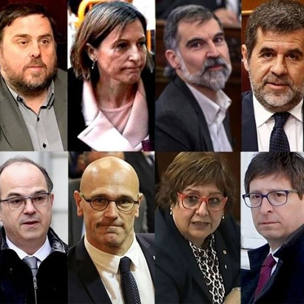 Sentencia del procés: estas son las condenas impuestas a los 12 acusados