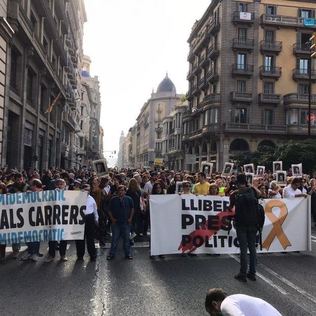 Los Mossos blindan el TSJC ante las protestas tras la sentencia