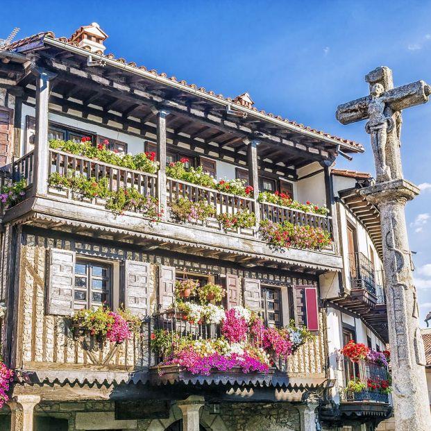 La Alberca, pueblo de la Sierra de Francia (bigstock)