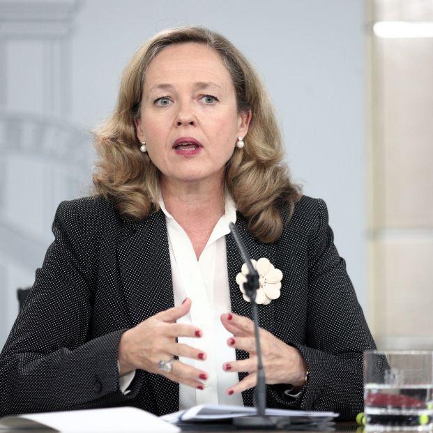 La ministra de Economía y Empresa en funciones Nadia Calviño