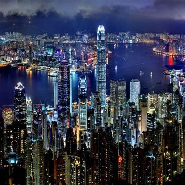 Vista de Hong Kong (bigstock)