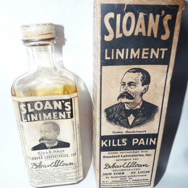 """Medicamentos """"históricos"""": linimento Sloam"""