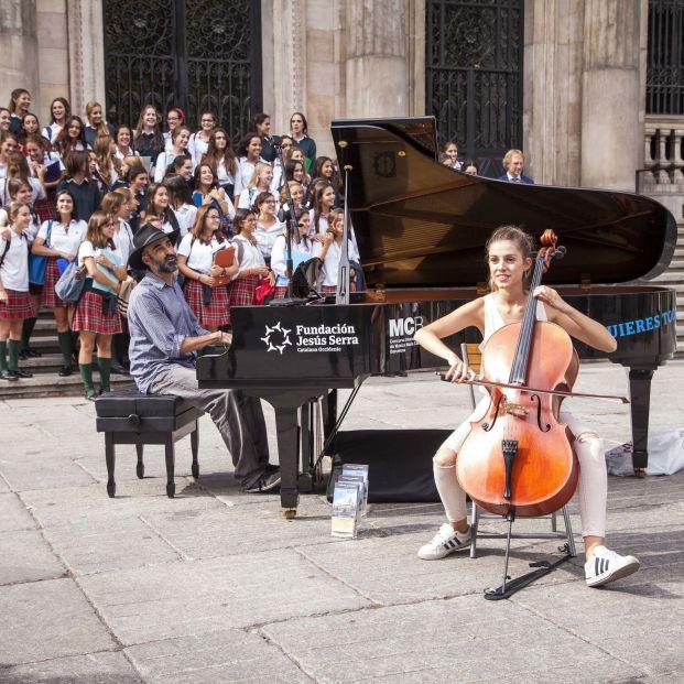 Los pianos de cola vuelven a conquistar las calles de Madrid