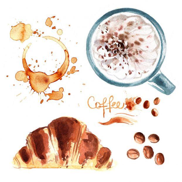 ¿Cómo puedes pintar con café?