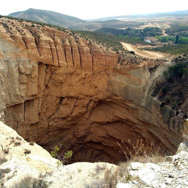 ¿Cómo puedes visitar la sima de San Pedro situada en Aragón?