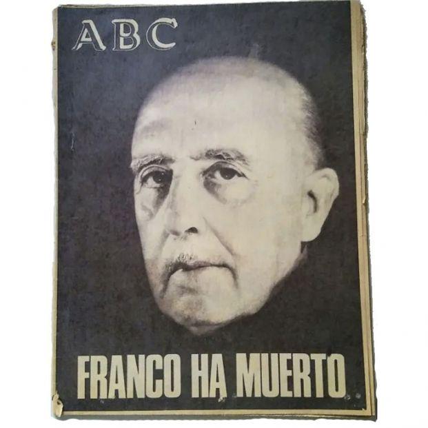 Portada de ABC muerte de Francisco Franco