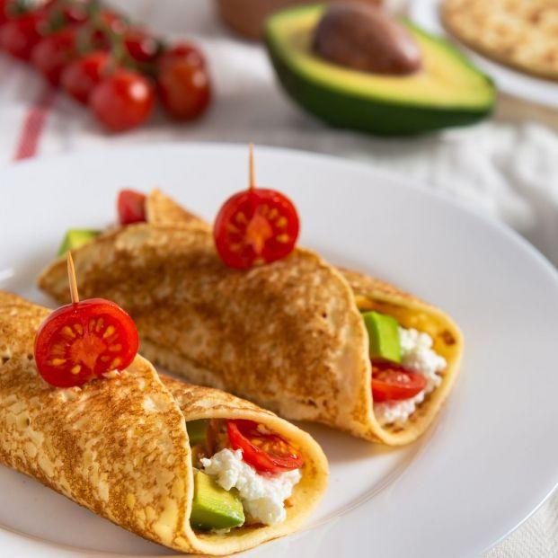 Ideas para que prepares crepes, dulces o salados