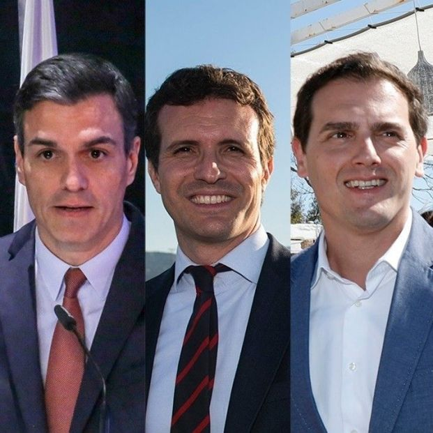 Así será el debate electoral a cinco que enfrentará a Sánchez, Casado, Iglesias, Rivera y Abascal