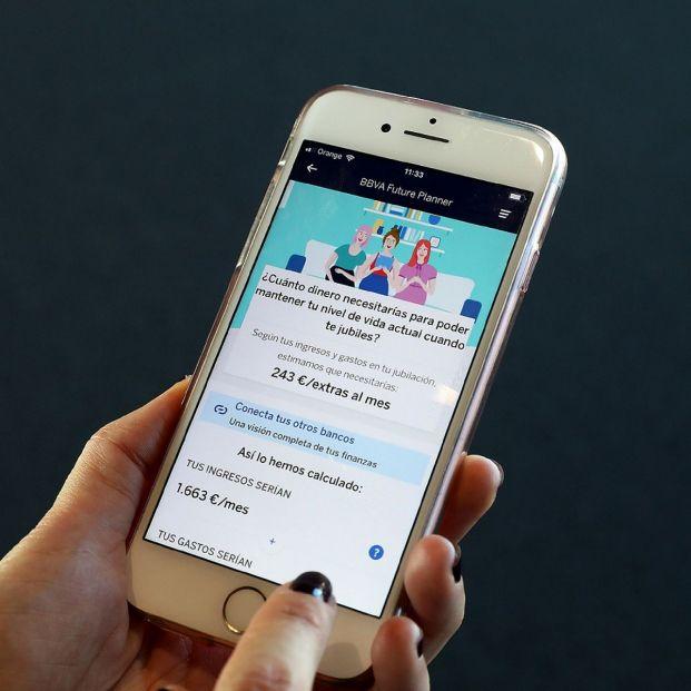BBVA lanza una app móvil que calcula la pensión pública