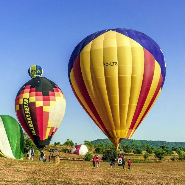 Volar en globo (Creative commons)