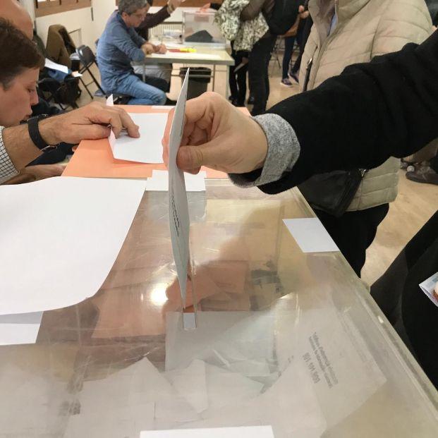 Votación. Política de regate corto. Foto: EuropaPress