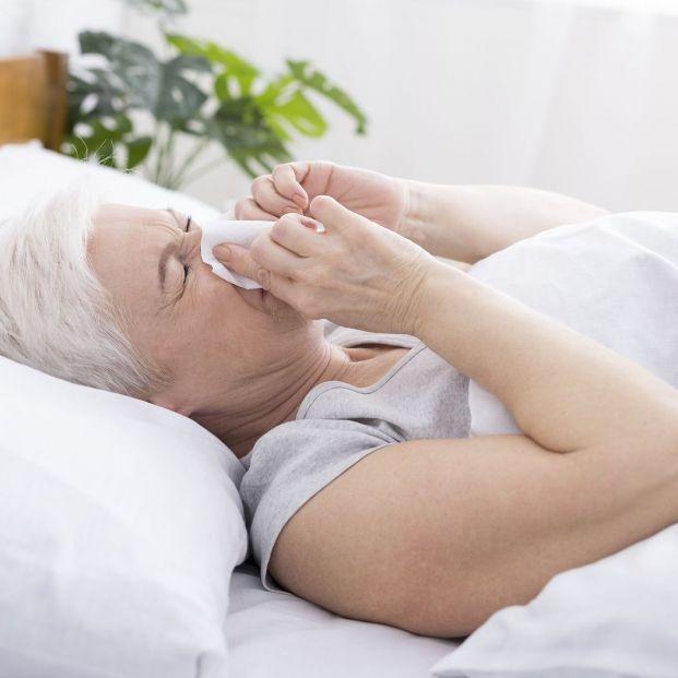 Aliviar la congestión nasal para descansar mejor