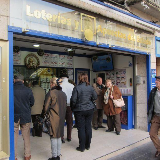 Las administraciones de lotería más veteranas y populares de España. Foto: EuropaPress