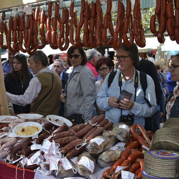 Malaga rebosa de fiestas gastronómicas donde disfrutar embutidos y demás productos típicos
