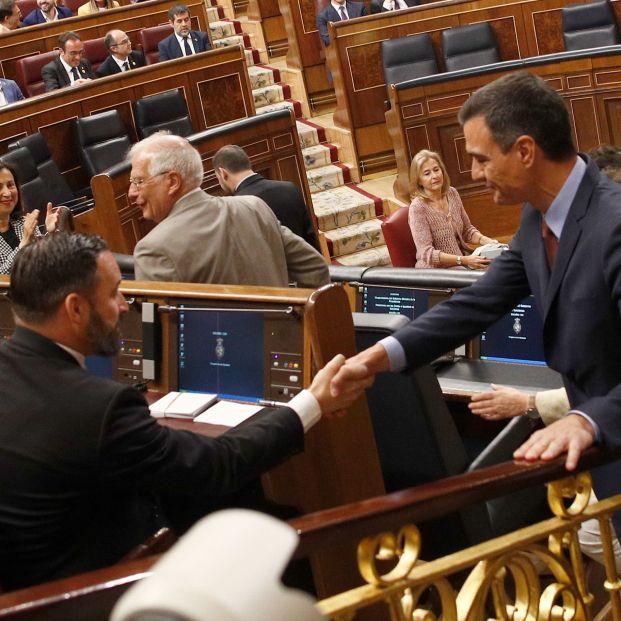 PSOE y Vox no se 'repelen' en el Congreso y son los que más apuestan por el talento sénior