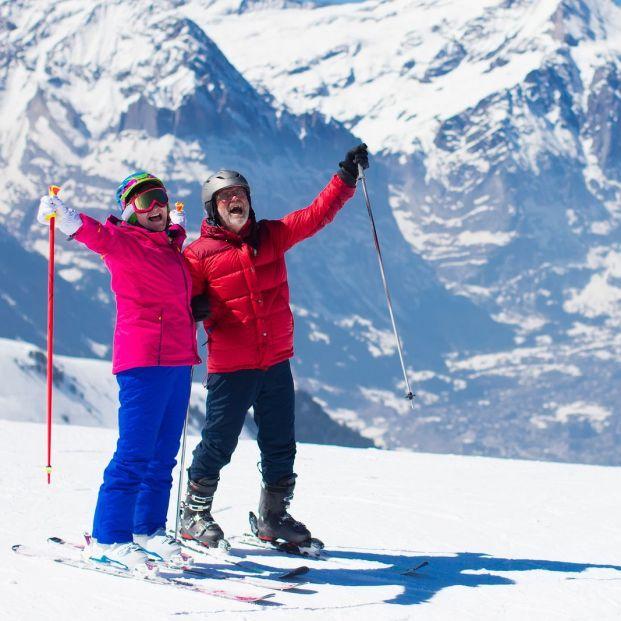 Quiero aprender a esquiar