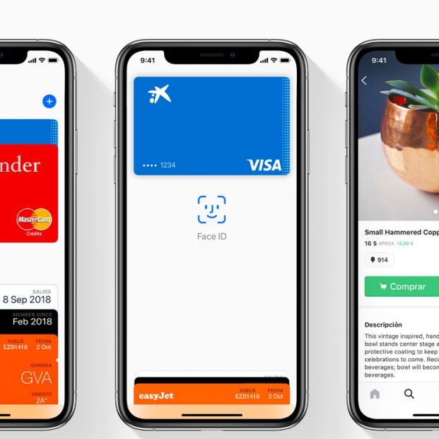 El pago por el móvil, la apuesta por la tecnología invisible (Apple)