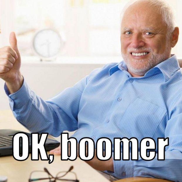'OK, boomer', la frase edadista que se ha convertido en tendencia en las redes