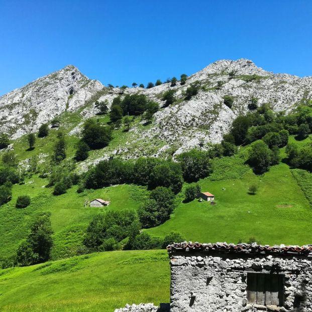 rutas sencillas por los Picos de Europa: Majada de Vierru (Carlos Losada)