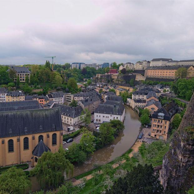 El balcón más bello de Europa está en Luxemburgo