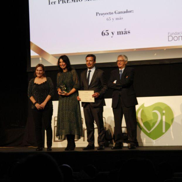 65Ymás galardonado por la Fundación DomusVi con el Premio Medio de Comunicación de Ámbito Nacional
