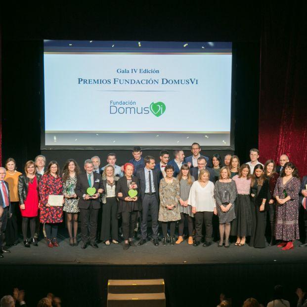 Gala de entrega de la IV edición de los premios de Fundación DomusVi