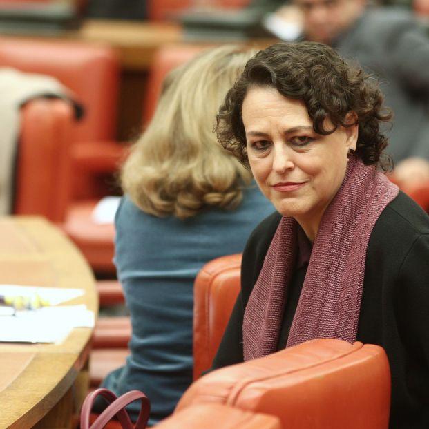 La ministra de Trabajo en funciones Magdalena Valerio