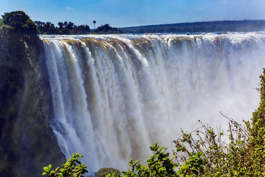 Cataratas Victoria entre Zimbaue y Zambia