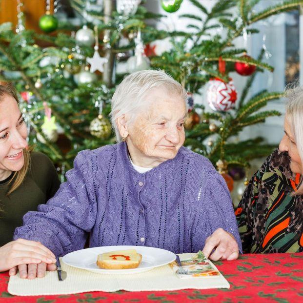 Consejos para celebrar la Navidad con una persona con Alzheimer