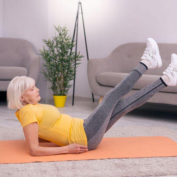 Rutina de entrenamiento tronco-piernas