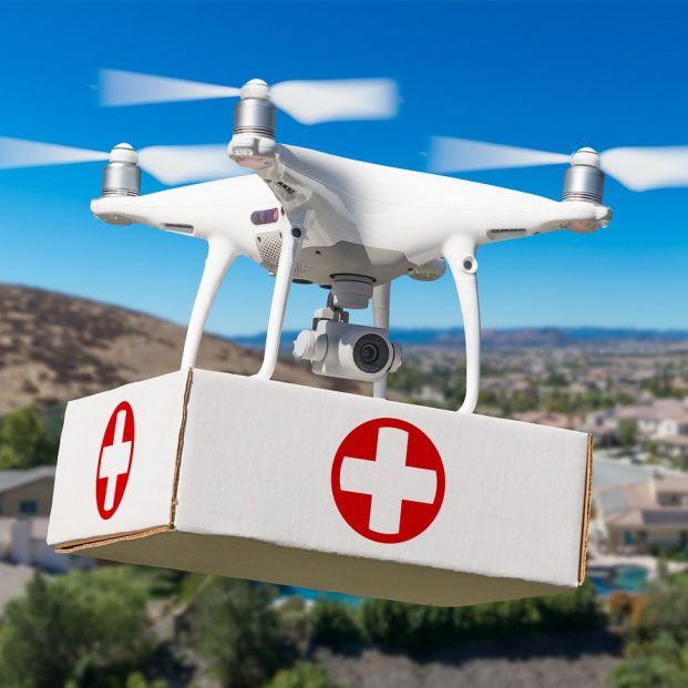 Se investiga en drones que suministren medicamentos a personas mayores de zonas remotas