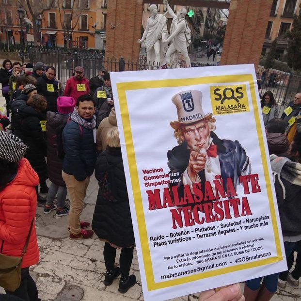 """SOS Malasaña: """"Queremos un compromiso político que garantice los derechos de los vecinos"""""""