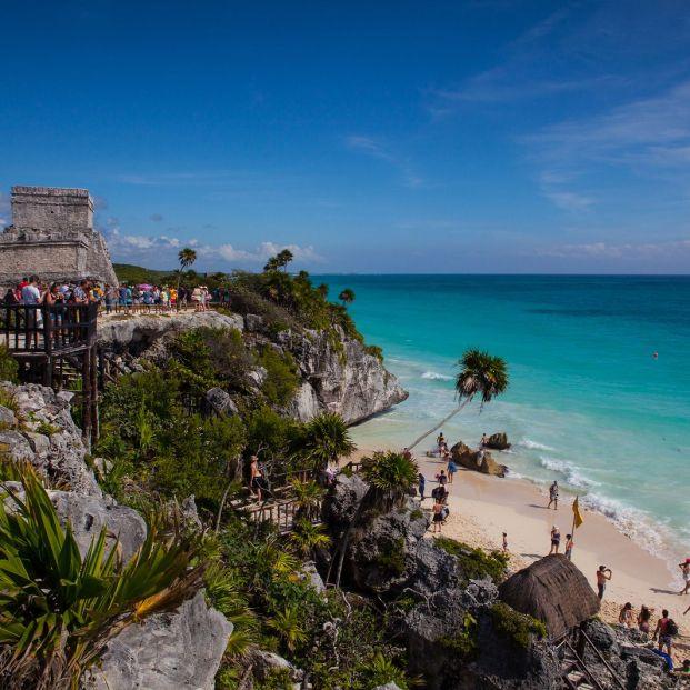 Los restos arqueológicos de Tulum en la Riviera Maya (bigstock)