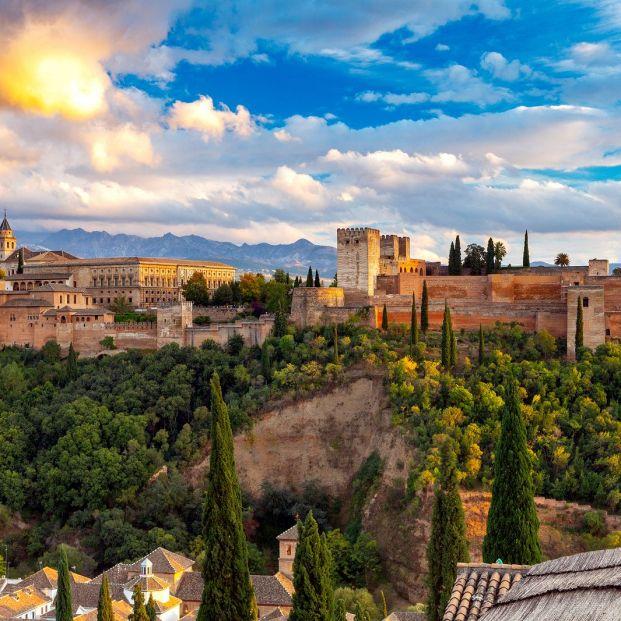 Vista de la Alhambra desde el Albaicín
