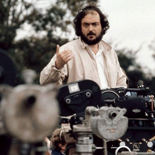Stanley Kubrick filmando 'Barry Lyndon' (1975) (Warner Bros.)