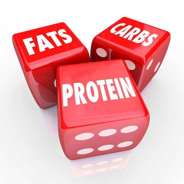 Macronutrientes: carbohidratos, proteínas y grasas