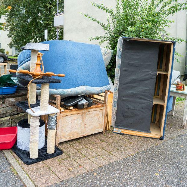 Deshacerte de un viejo mueble con ayuda del ayuntamiento