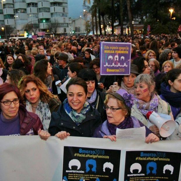 Manifestación del 8-M en Córdoba (2018).